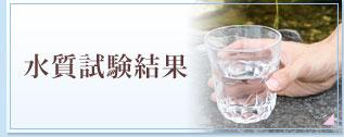 水質試験結果